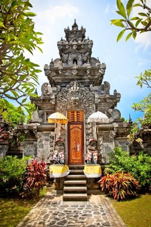 Pura Prasasti Blanjong Temple in Undang, Bali, Indonesien Standard-Bild - 19159003