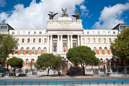 Department of Agriculture (build in 1893),  Madrid, Spain.