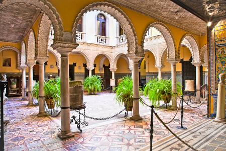 Museum Lebrija Palace (Palacio de Lebrija ), Sevilla,  Andalucia, Spain.
