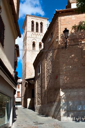 The church Saint Tome in Toledo, Spain  Banco de Imagens
