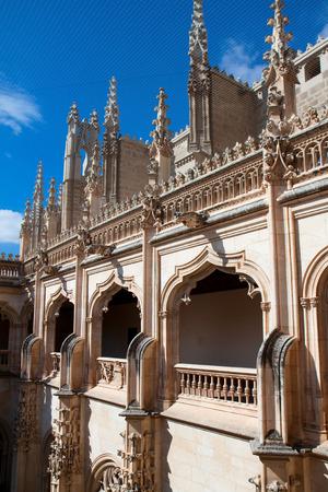The Claustro de Saint Juan de los Reye in, Toledo, Spain  Stock Photo