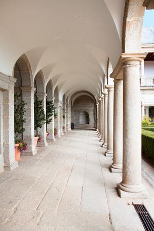 Columns in the  Royal Monastery of San Lorenzo de El Escorial, El  Escorial,  Spain