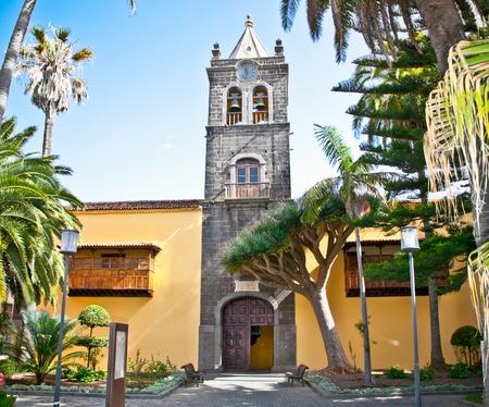 Instituto de Canarias in San Cristobal de la Laguna, Tenerife, Canary Islands. Spain. Reklamní fotografie