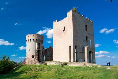 Remains of the fortress in Erdut -Castellum Erdeed, near Osijek, Croatia Stock Photo
