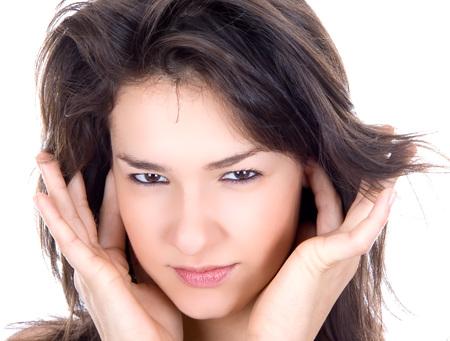 Nice brunette do not want lesternig more