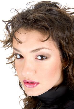 Beautiful make up woman Banco de Imagens