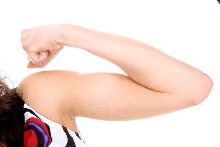 Arm of beautiful young woman Banco de Imagens - 134149689