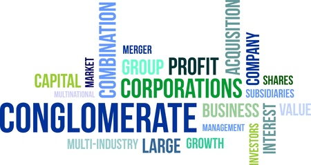 conglomerate: A word cloud of conglomerate related items