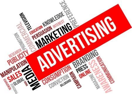 광고 관련 상품의 단어 구름
