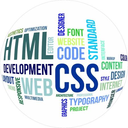 css: Una nube parola di html e css relative poste