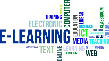 streaming: A word cloud of e-learning related items