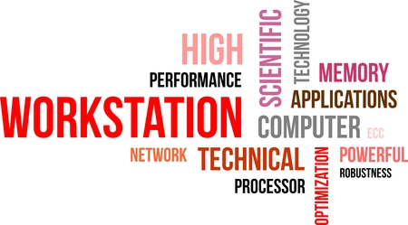 robustness: A word cloud of workstation related items