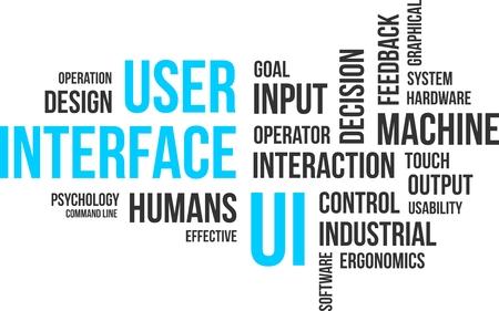 ergonomie: Eine Wortwolke der Benutzeroberfl�che verwandte Artikel