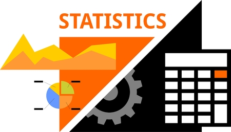 estimation: An illustration showing a statistics concept
