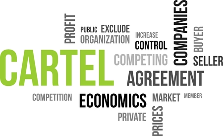 cartel: A word cloud of cartel related items