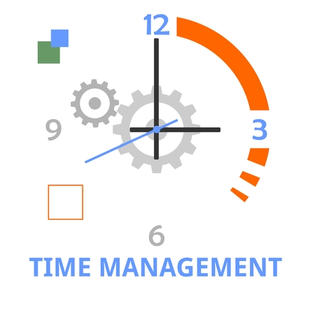productivity system: An illustration showing a time management concept