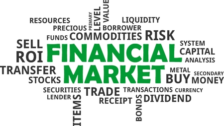 borrower: A word cloud of financial market related items