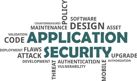 flaws: A word cloud of application security related items