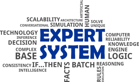 emulation: A word cloud of expert system related items