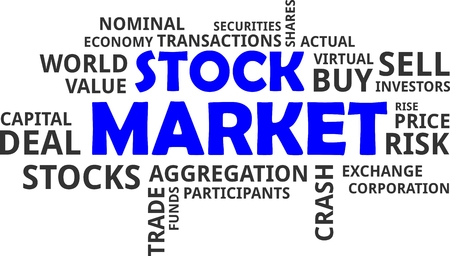nominal: A word cloud of stock market related items