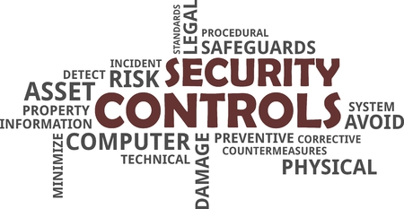 preventive: A word cloud of security controls related items