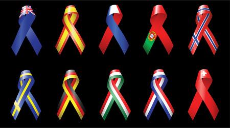 kingdom of spain: Ribbons of Europe 1 Illustration