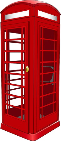 telephone booth: British Telephone Booth