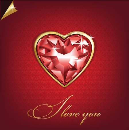 Love You Valentine Vector