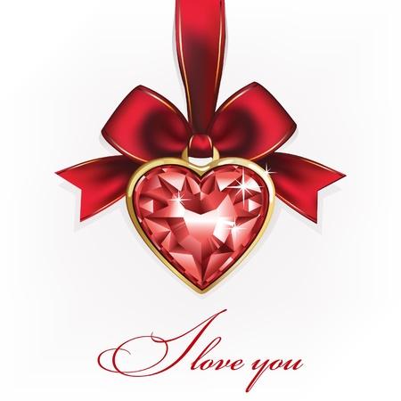 brooch: Love You Valentine