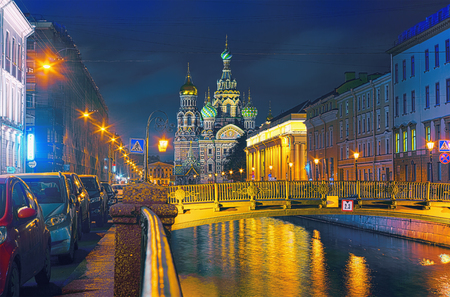Church of the Savior on Blood is a sample of architecture of