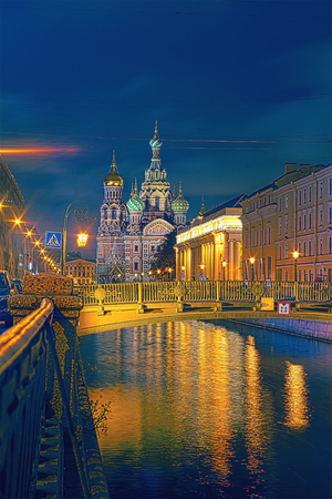 Church of the Savior on Blood on the Griboedov channel Quay is a model of the architecture of the