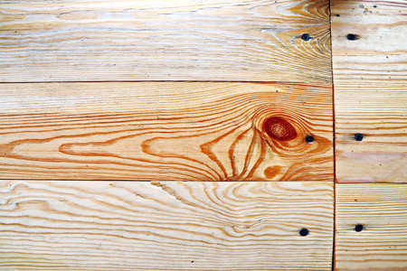 Wooden planks and sectional tree structure used as a base and backgrounds. Stock fotó