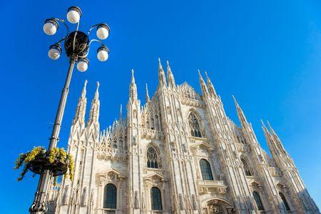 Duomo in Milan, Italy photo