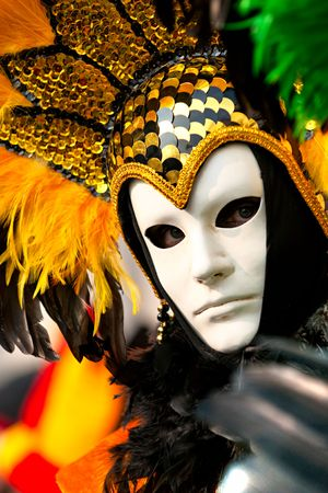 Carnival mask in Venice, Italy. Stock Photo - 6128541