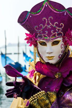 mask in Venice, Italy.