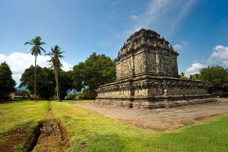 Candi Pawon Temple, Borobudur, Yogyakarta, Java, Indonesia. Stock Photo