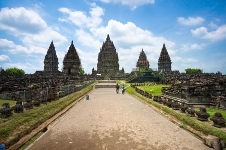 プランバナン寺院、ジョグ ジャカルタ、インドネシア ・ ジャワ島。