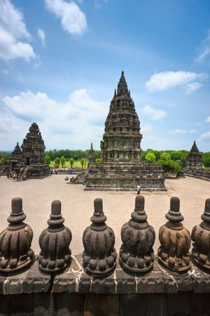yogyakarta: Prambanan Temple. Yogyakarta, Java, Indonesia.