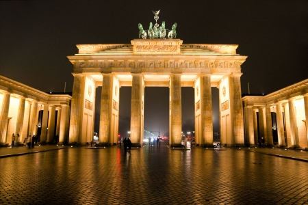 BRANDENBURG GATE, Berlin, Duitsland.