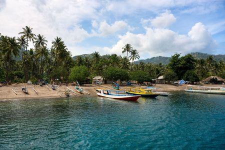 lombok: Beautiful Lombok coastline, Indonesia.