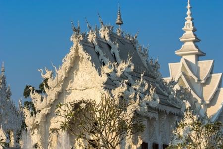 White Temple in Chiang Rai, Thailandia Stock Photo - 17243153