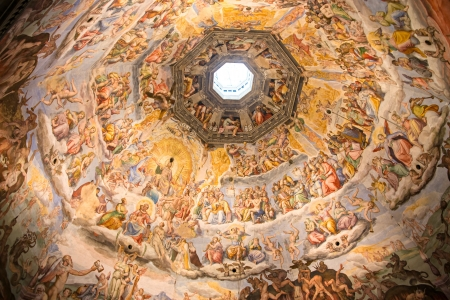 Florence, Painting inside the dome of the  Duomo
