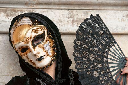 mardi gras mask: Carnival mask in Venice, Italy.