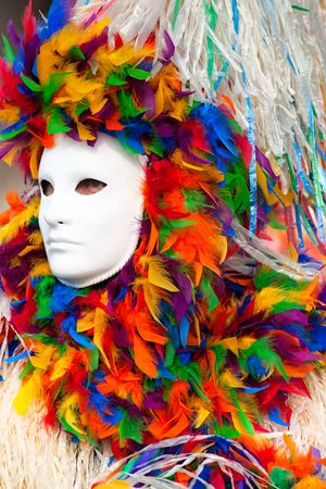 Carnival mask in Venice, Italy. photo