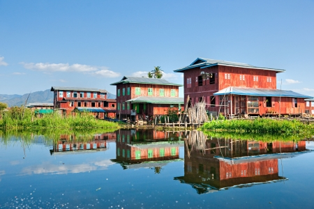 Inle lake,  Myanmar. photo