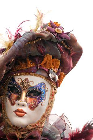 masque: Carnival mask in Venice, Italy.