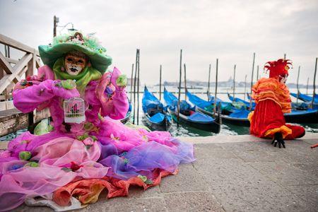 mardigras: Carnival mask in Venice, Italy.