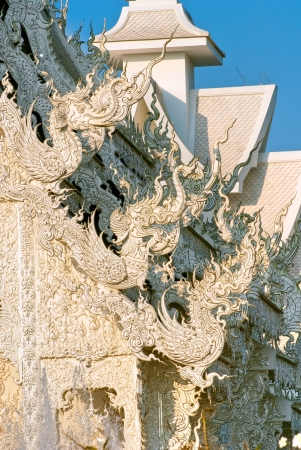 White Temple in Chiang Rai, Thailandia Stock Photo - 17324929