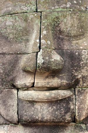 Bayon Tower,  Angkor Thom, Siem Reap, Cambodia  Stock Photo - 17359093