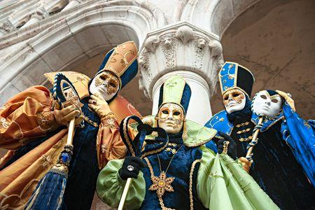 carnaval venise: Masque de Carnaval de Venise, Italie. Banque d'images